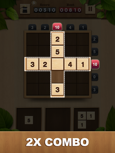 TENX - Wooden Number Puzzle Game 1.1.3 screenshots 9