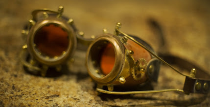 Photo: The glasses I wore around Burning Man that gave everything an orange tint...