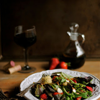 Green Salad With Strawberry Balsamic Vinaigrette Recipes