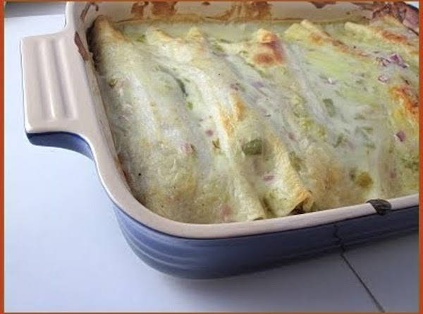 Green Chili Enchiladas Recipe