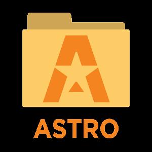 Gestor de archivos ASTRO