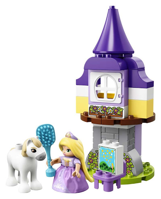 Contenido de Lego® 10878 Torre de Rapunzel