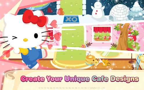 Hello Kitty Dream Cafe - náhled
