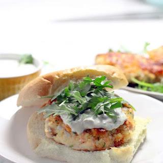 Salmon Burgers with Lemon Caper Aioli Recipe