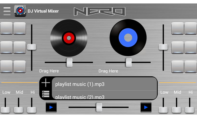 android apps virtual mixer player