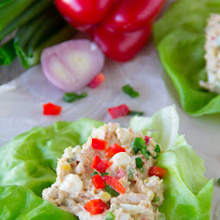 Tuna Salad Recipe with Eggs.