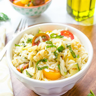 Summer Vegetable Orzo Pasta Salad