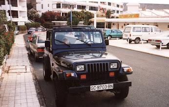 Photo: Jeepillä päiväretkellä Las Palmasissa