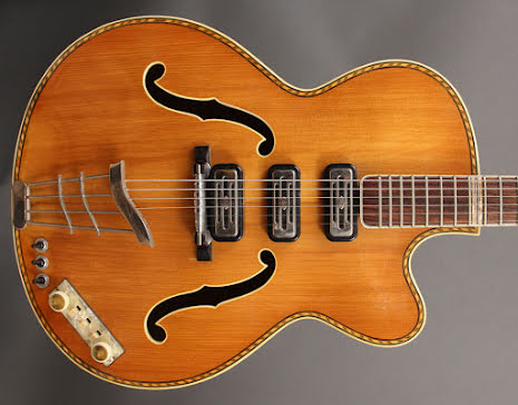 Hofner 463 Archtop -59/60 USED - Good Condition