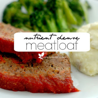Nutrient Dense Meatloaf