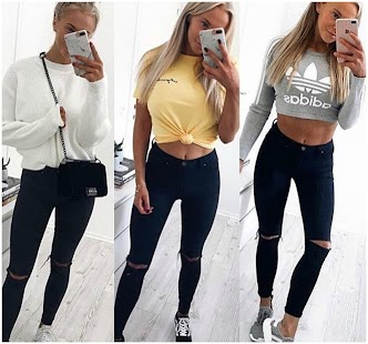 Teen Outfit Ideas 2018 💖 Screenshot