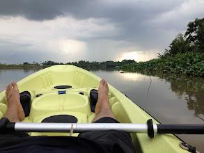 Photo: rowing toward the sun... :-)