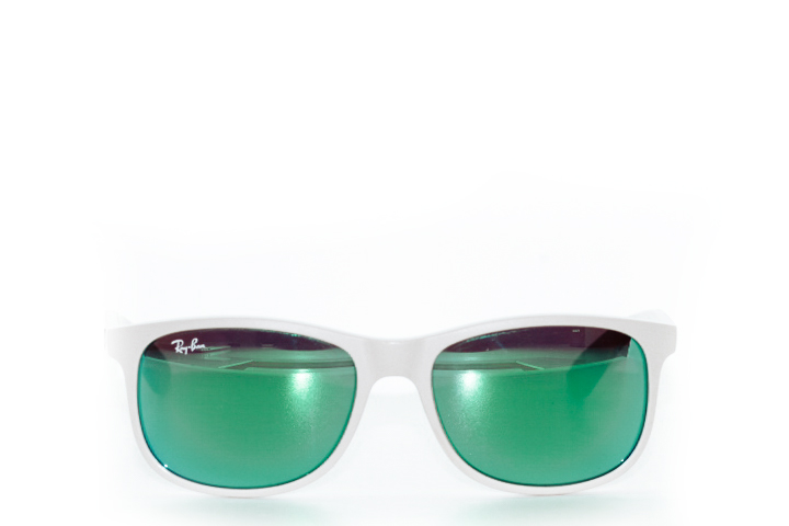 Ray Ban Andy Shiny Beige Mirror