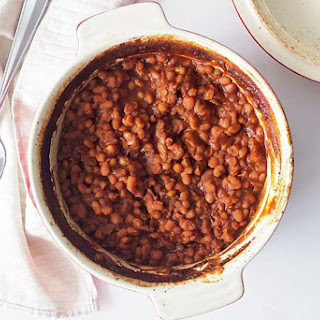 Grandma's Old Fashioned Baked Beans.