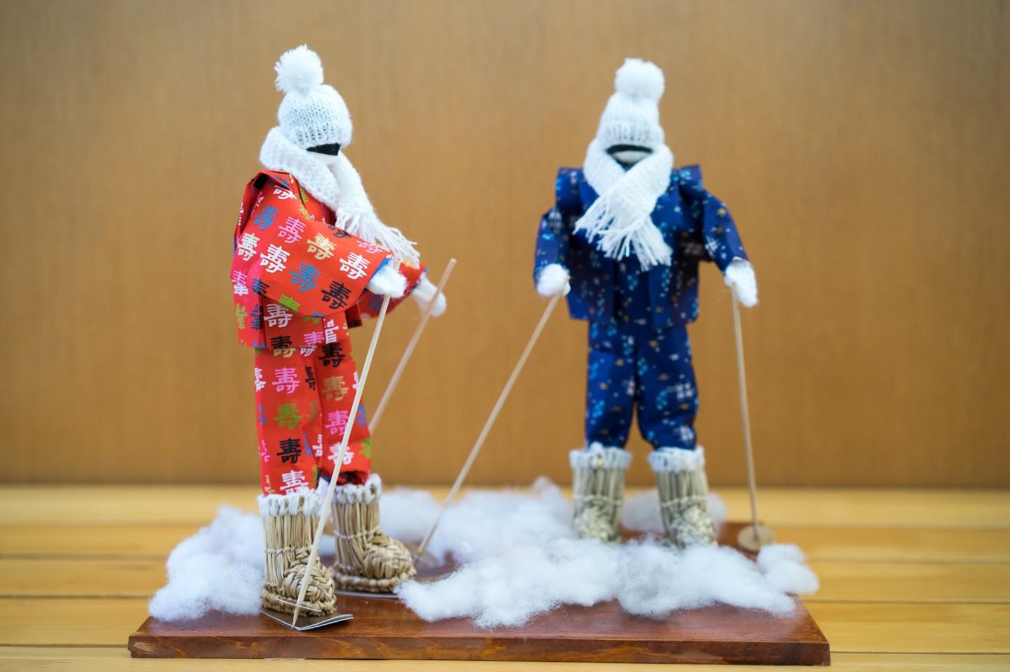 和紙人形「雪ん子」