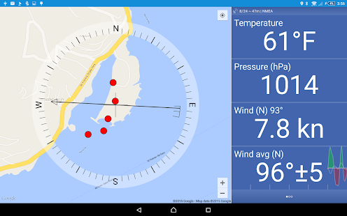 Nanny Cay Weather Station- screenshot thumbnail