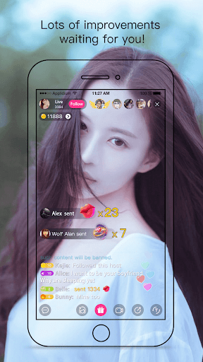 Creamy Show - Live Streaming Video Chat 2.7.2 screenshots 4