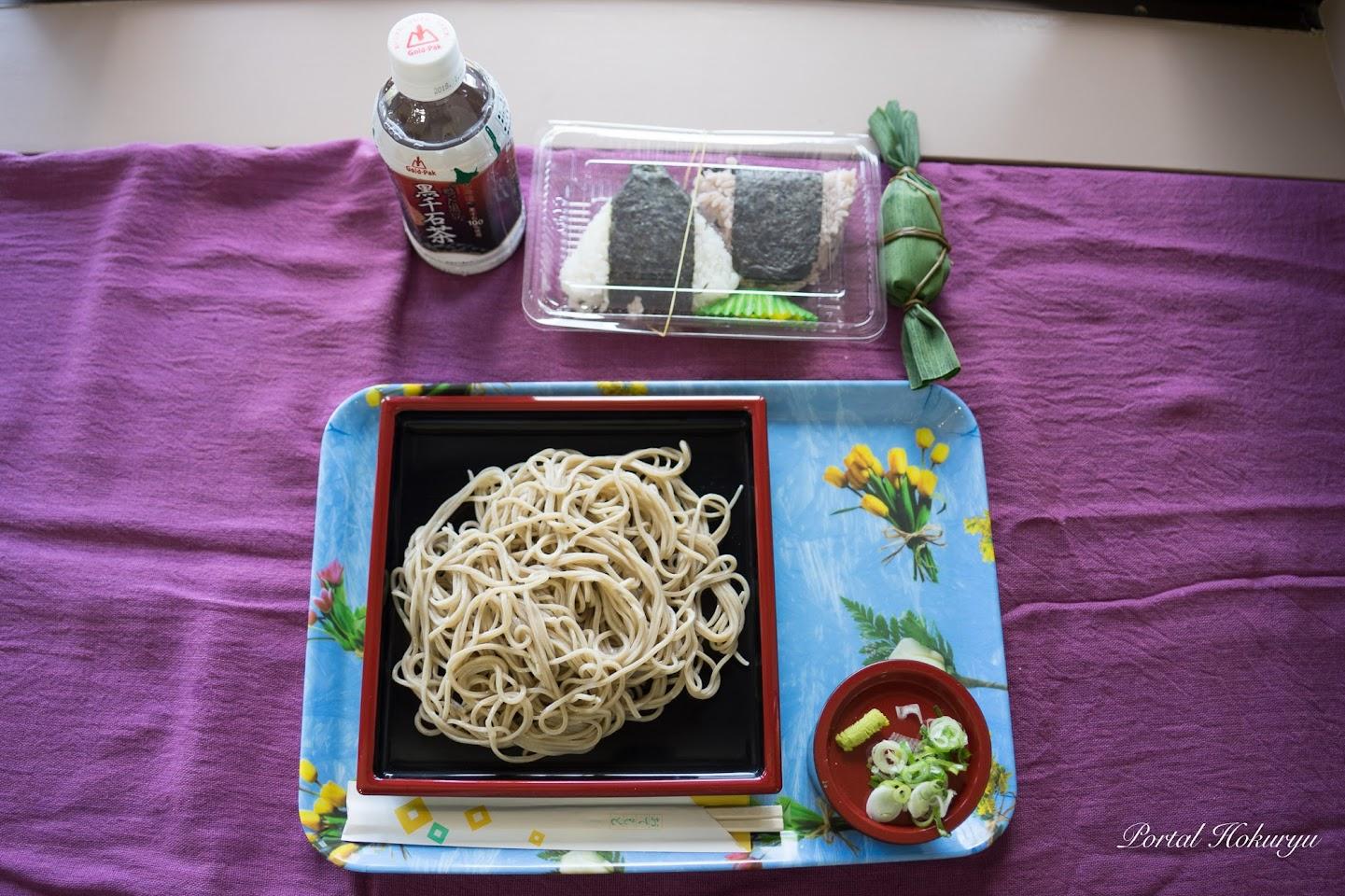 北竜町特産品の昼食