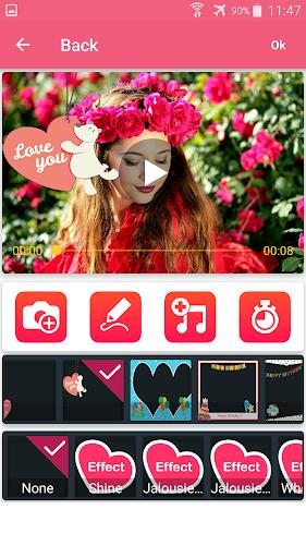 Photo video maker with music screenshot 5