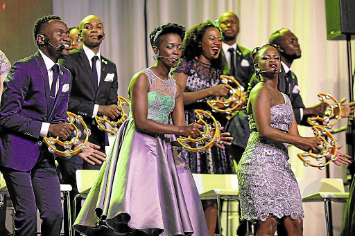 South Africa's award-winning gospel outfit, Joyous Celebration, will be bringing its concert experience to cinemas./ SINO MAJANGAZA