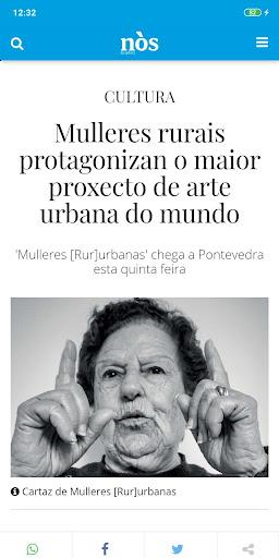 Nòs Diario screenshot 2