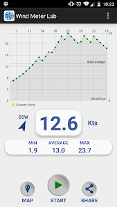 Wind Meter Lab screenshot 1