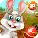 Easter Bunny Runner 3D icon