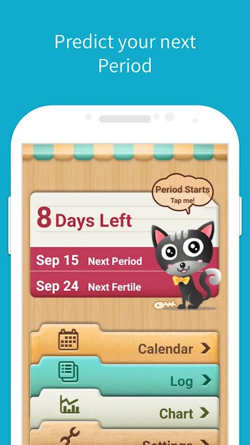 #1. Period Tracker, My Calendar (Android)