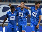 Gent rolt een mak Cercle op met 3-1 en nadert tot op twee punten van leider Standard
