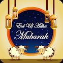 Eid ul adha photo frame- crazy effects & greetings icon