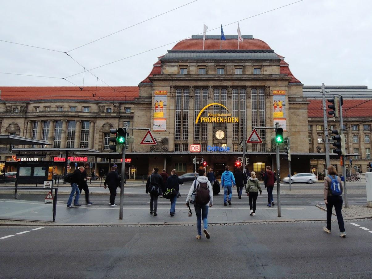 Dworzec kolejowy wLipsku