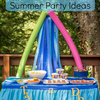 Take a Dip Summer Party Ideas