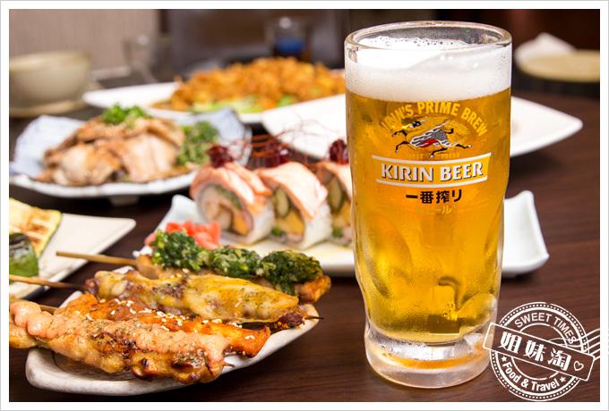 大麥町日式碳烤熱炒活海鮮生啤酒