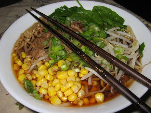 Mongolian Beef Ramen Noodles Recipe | Yummly