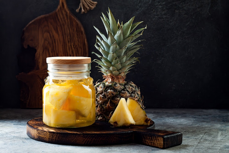 Wit the booze ban in full effect, homemade pineapple beer is making a comeback.