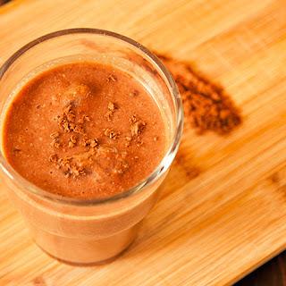 Frozen Chocolate Smoothie.