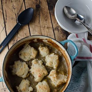 Creamy Chicken Stew with Dumplings