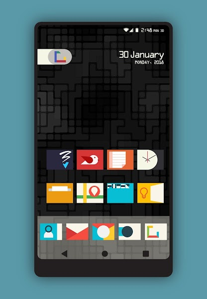 Flax - Icon Pack Screenshot Image