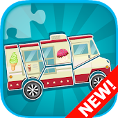 Car Puzzles for Toddlers Free
