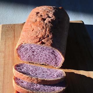 Ube Bread.