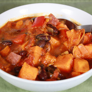 Chili-Topped Sweet Potatoes & Round 2 Soup