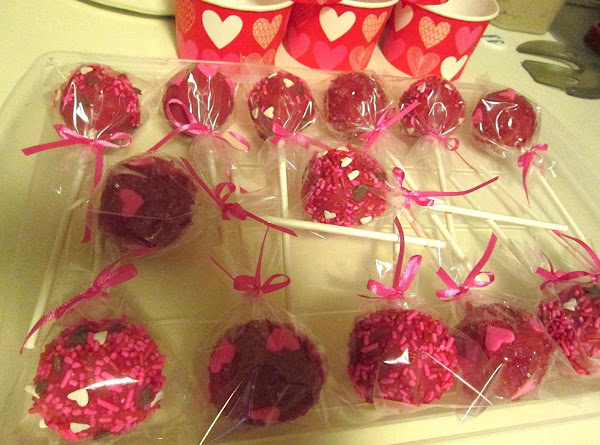 Red Velvet Cakepops Recipe