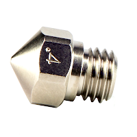 Cocoon Create .5mm Micro Swiss Plated Wear Resistant Nozzle MK10 FlashForge Wanhao Monoprice Dremel PowerSpec