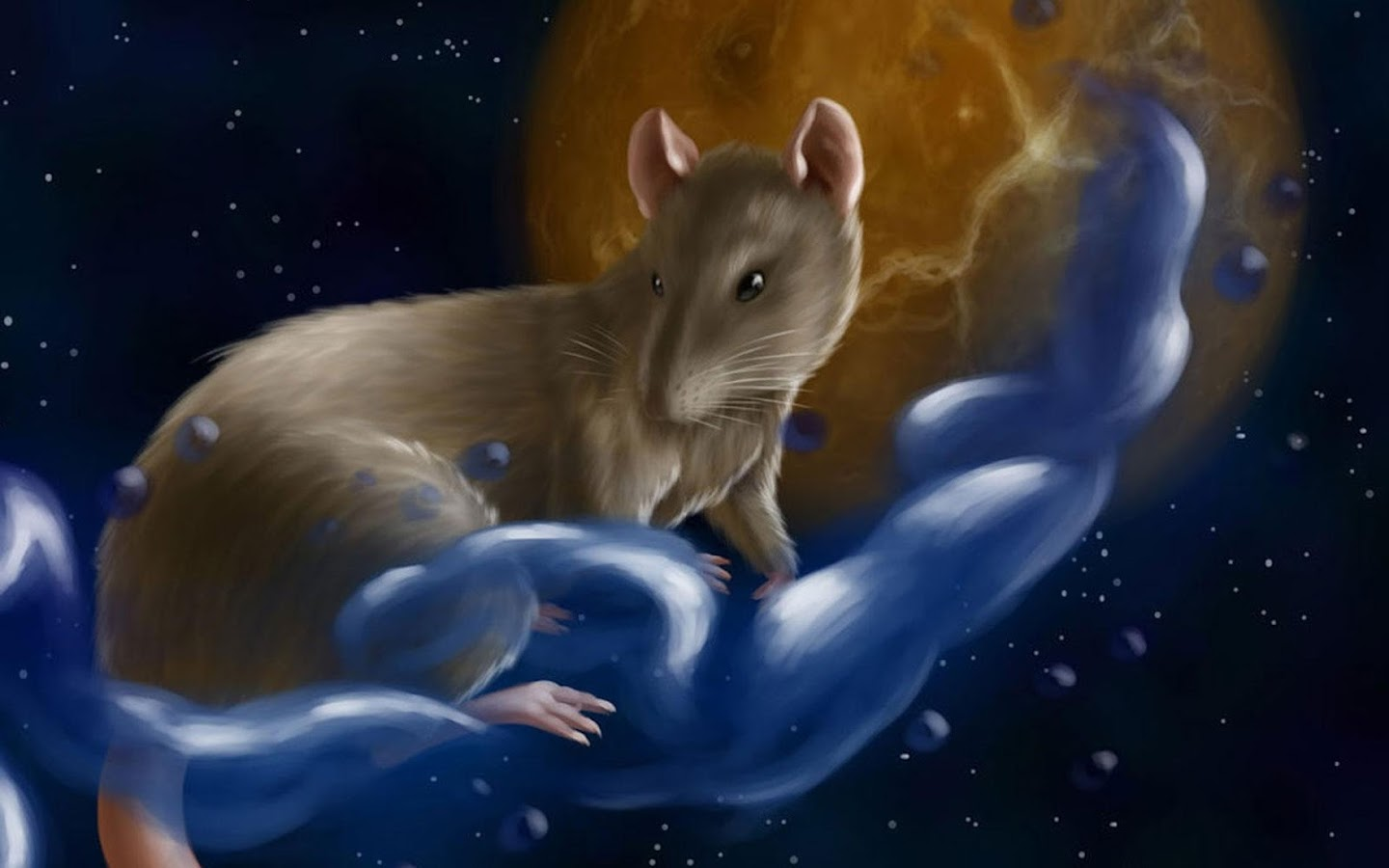 Rat Live Wallpaper- screenshot