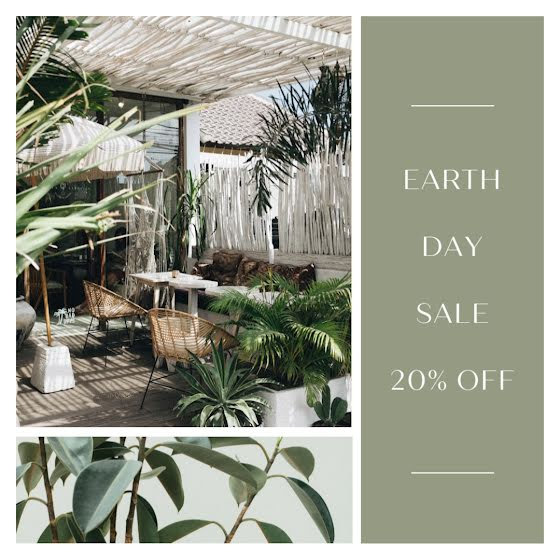 Earth Day Sale - Instagram Post Template
