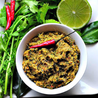 VEGETARIAN THAI GREEN CURRY PASTE