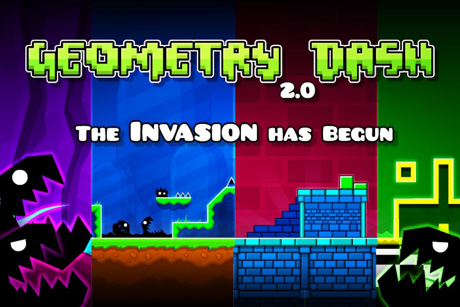 Geometry Dash Android App Screenshot