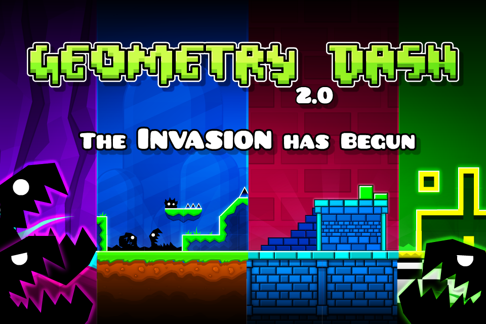 Geometry Dash Mod Apk (Unlimited Money/Diamonds) Unlocked All 1