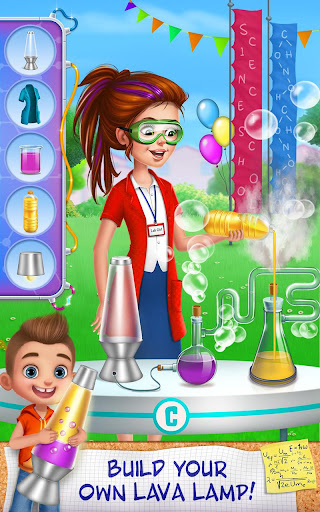 Science Girl - Lab Super Star screenshot