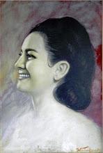 Photo: BRUNO STEINBACH: Retrato de Maria José Frota. Óleo/duratex, 65 x 45 cm. 1999, Mossoró, Rio Grande do Norte, Brasil.  Coleção: Maria José Frota. Mossoró, Rio Grande do Norte, Brasil.  OS RETRATOS: https://www.facebook.com/media/set/?set=a.109281499106463.8297.109186739115939&type=1&l=ed055e0a9a